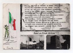 Trieste - Saluti Da Trieste Italiana - Viaggiata Nel 1954 - (FDC3253) - Trieste