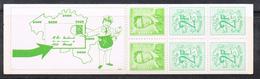 BELGIQUE CARNET C1648 N**  1973 COMPLET TB - Carnets 1953-....
