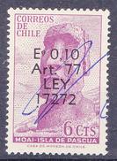 CHILI- 1965 - Ski - Mi Nr. 634 - YT Nr. 307 - Sn: 347 - USED- ° - Chili