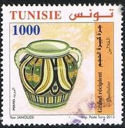2012 - TUNISIA - ARTIGIANATO / HANDICRAF. USATI - Tunisia (1956-...)