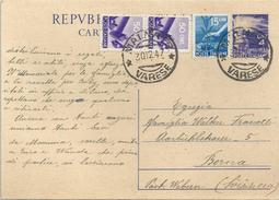 PK  Malnate Varese - Bern                1947 - 6. 1946-.. Repubblica