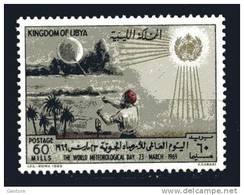 LIBYA 1969  Meteo Day Yvert Cat.  N° 345  Perfect Mint Never Hinged** - Climate & Meteorology