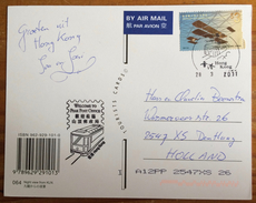 Hong Kong, Night View From KLN, Cancel From The Peak Post Office, Tram - China (Hongkong)