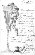 CPA Fantaisie - Bébés - Bébés Multiples  - Enfants - Coupe De Champagne - Bébés