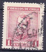 CHILI- 1960 - YT Nr.281 - Mi Nr.563 - Francisco Antanio Pinto-  USED -° - Chili
