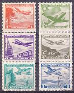 CHILI- 1960 - YT Nr.PA191,192,193,194,195,196 - USED- °+* - Chili
