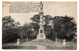 LOIGNY LA BATAILLE-- Monument Du Sacré-Coeur Au Bois Des Zouaves  éd L.B  L.I.B - Loigny