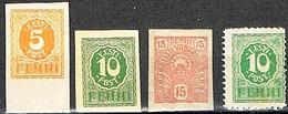1919 : - Série Courante - Y&T N° 6 à 9 ** - Beau N° 9 ** - - Estonia