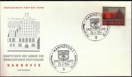 Germany Hannover 1964 / Hauptstädte Der Bundesländer / Coat Of Arms