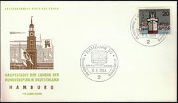 Germany Hamburg 1964 / Hauptstädte Der Bundesländer / Coat Of Arms