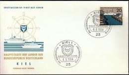 Germany Kiel 1964 / Hauptstädte Der Bundesländer / Coat Of Arms