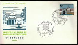 Germany Wiesbaden 1964 / Hauptstädte Der Bundesländer / Coat Of Arms
