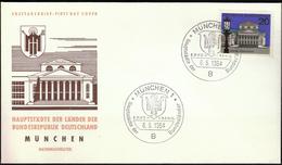 Germany Munich 1964 / Hauptstädte Der Bundesländer / Coat Of Arms