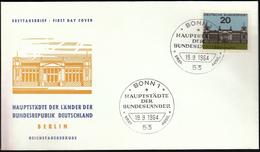 Germany Bonn 1964 / Hauptstädte Der Bundesländer / Coat Of Arms