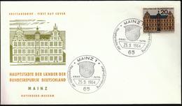 Germany Mainz 1964 / Hauptstädte Der Bundesländer / Coat Of Arms
