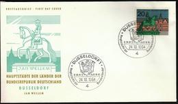 Germany Dusseldorf 1964 / Hauptstädte Der Bundesländer / Coat Of Arms