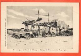 IAE-04 En Route Pour Le Détroit De Behring Attelage Du Missionnaire De Mary's Igloo Chiens Polaires. Not Used - Etats-Unis