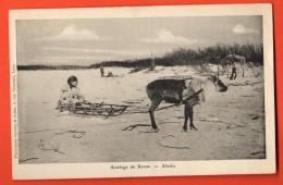 IAE-05  Attelage De Renne. Alaska. Not Used - Etats-Unis