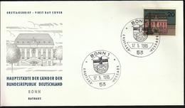 Germany Bonn 1965 / Hauptstädte Der Bundesländer / Coat Of Arms
