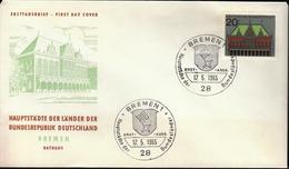 Germany Bremen 1965 / Hauptstädte Der Bundesländer / Coat Of Arms