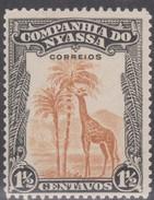 NYASSA 1921-23 GIRAFA GIRAFE  GIRAFFE  Giraffa Camelopardalis