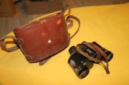 Paire De Jumelles 1925  HUET 8X30 Avec Etui Et Accessoires