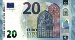 EUROPEAN UNION FRANCE 20 EURO ND (2015) P-22u UNC LETTER: U [EU110u3] - 20 Euro