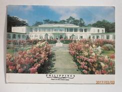 Postcard Main Club Camp John Hay Baguio City Luzon Philippines Ex US Military R&R My Ref B2286 - Philippines