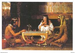 CHESS SPORT BERKES - SUTOVSKY EGYPTIAN CHESS PLAYERS LAWRENCE ALMA-TADEMA PAINTING & DRAWING * Caissa CCC 0533 * Hungary - Echecs