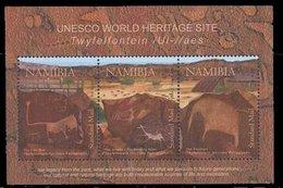Namibia 2008 Sheet UNESCO Prehistoric Site #1156 - Namibia (1990- ...)