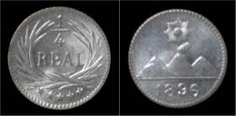 Guatemala 1/4 Real 1896 - Guatemala