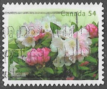 Canada SG2603 2009 Rhodedendrons 54c Good/fine Used [33/28373/4D]