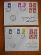 Réunion : Deux Lettres De 1984 Avec Cachets De La Possession  Et De St Gilles Les Hauts