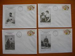 Réunion : Série D'enveloppes émises Pour La Commémoration De L'abolition De L'esclavage Rolland Garros