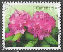 Canada SG2604 2009 Rhodedendrons 54c Good/fine Used [33/28374/4D]