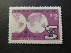 1969 - CHILE - ILO EMBLEM - SCOTT C296 A197 2E (1) - Cile