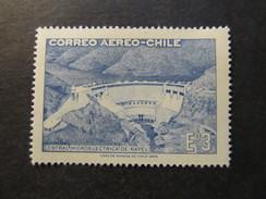 1969 - CHILE - RAPEL HIDROELECTRICT PLANT - SCOTT C292 A193 3E (1) - Cile