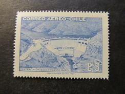 1969 - CHILE - RAPEL HIDROELECTRICT PLANT - SCOTT C292 A193 3E (2) - Cile