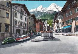 ALLEMAGNE----BERCHTESGADEN--marktplatz Mit Watzmann--voir 2 Scans - Berchtesgaden