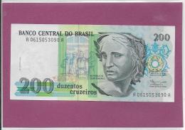 BANCO CENTRAL DO BRASIL 200 Cruzeiros - Brazil