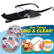 See Things Big & Clear Pro Vision 160% Magnifying Presbyopic Glasses - Old Paper