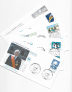 Enveloppes  1er Jour FDC 2001 5 Enveloppes Thème Differents - FDC