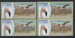 "Israël Distributeur N° 56** (MNH) 2010 - Oiseau ""Flamant Rouge"" - Franking Labels"