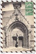 U1454 LA ROCHE MAURICE L'EGLISE PORTAIL MERIDIONAL 1922   2 SCANS - La Roche-Maurice