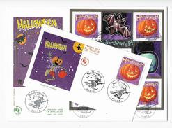 Enveloppes  1er Jour FDC 2001 2 Enveloppes . Halloween - 2000-2009