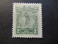 1915 - MEXICO - STATUE OF CUAUHTEMOC - SCOTT 501 A58 2C - Mexico