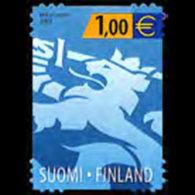 FINLAND 2002 - Scott# 1168 Heraldic Lion 1e MNH