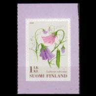 FINLAND 2008 - Scott# 1308 Flowers Set Of 1 MNH