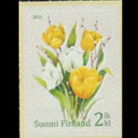 FINLAND 2011 - Scott# 1373 Tulips Set Of 1 MNH