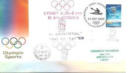 POSTMARKET  AUSTRALIA   OLIMPIC 2000